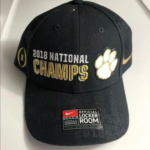 Nike Clemson Tigers 2018 National Champs Hat